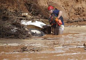 12 کشته در پی وقوع سیل در اسپانیا