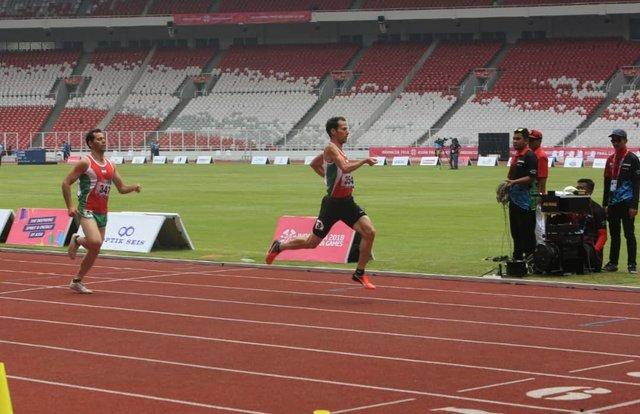 عبدلپور در ماده ۱۵۰۰ متر مردان به مدال طلا رسید
