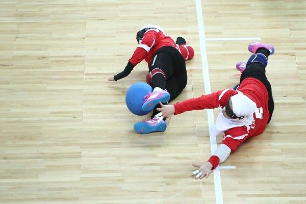 تیم ملی گلبال بانوان به مدال برنز بازیهای پاراآسیایی رسید