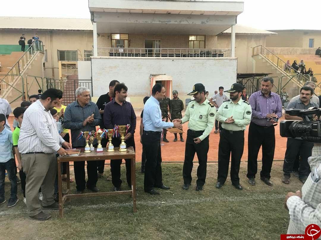 مسابقات فوتبال نونهالان شهرستان گناوه درایستگاه پایانی
