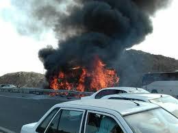 بازهم قاچاق سوخت قربانی گرفت /دونفر در آتش سوختند