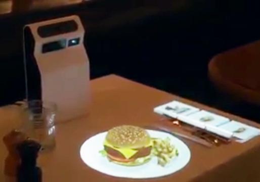 کاربرد حیرت انگیز واقعیت افزوده در رستورانها + فیلم