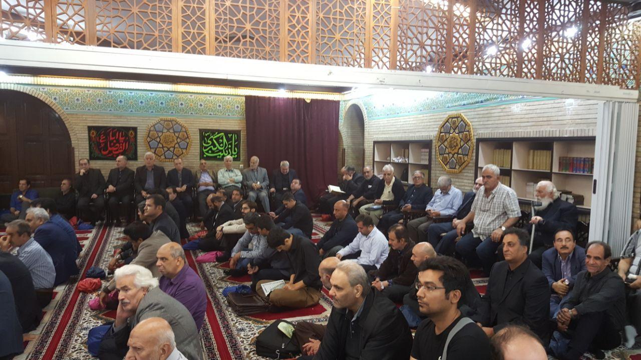 مراسم ترحیم بهرام شفیع برگزار شد