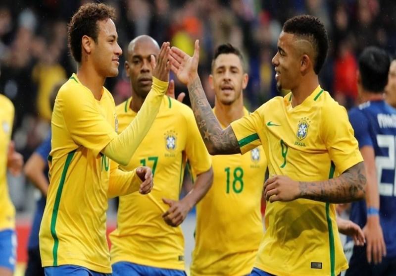 پیروزی تیم ملی فوتبال برزیل مقابل عربستان در دیداری دوستانه