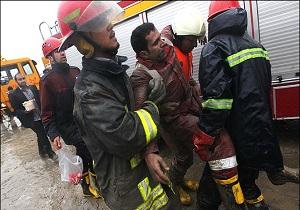 نجات 5 نفر توسط آتش نشانان همدانی