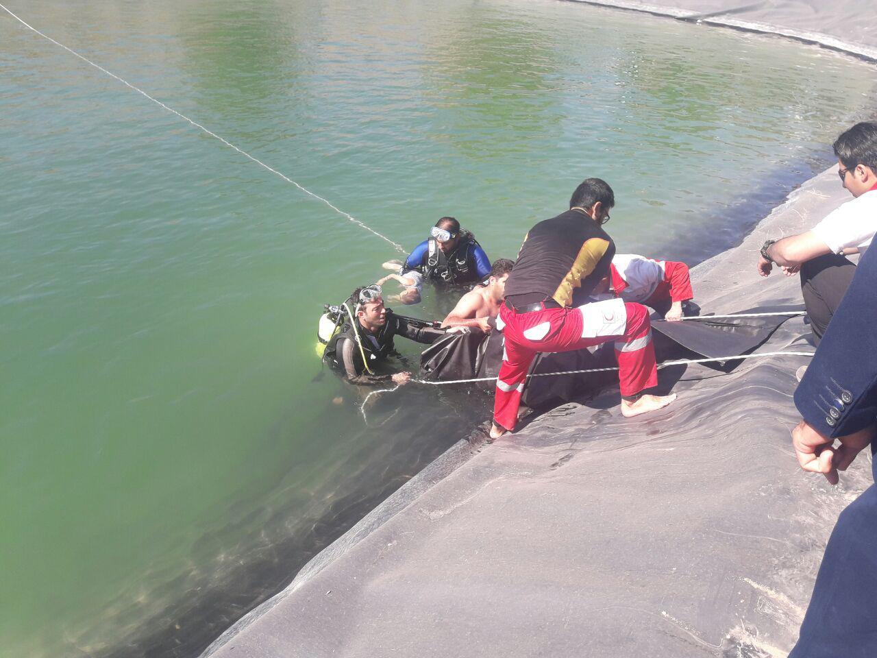 جان باختن دو کودک در استخر ذخیره آب کشاورزی