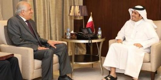 رایزنی «خلیلزاد» با مقامات قطری درباره صلح افغانستان