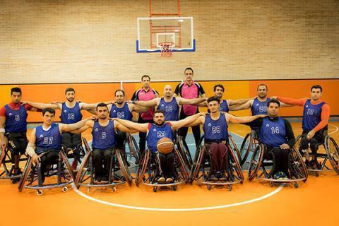 پنجاه و یکمین مدال طلای کاروان ایران به تیم بسکتبال با ویلچر رسید