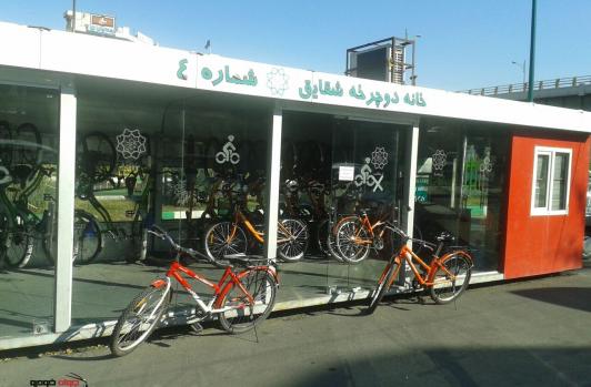 فعال سازی مجدد ایستگاه های دوچرخه
