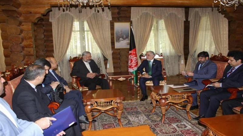 تاکید ایران و افغانستان بر گسترش روابط دو جانبه