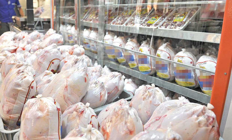 کاهش نامحسوس نرخ مرغ در بازار
