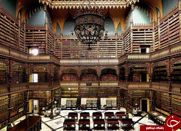 تصاویری از زیباترین کتابخانههای جهان