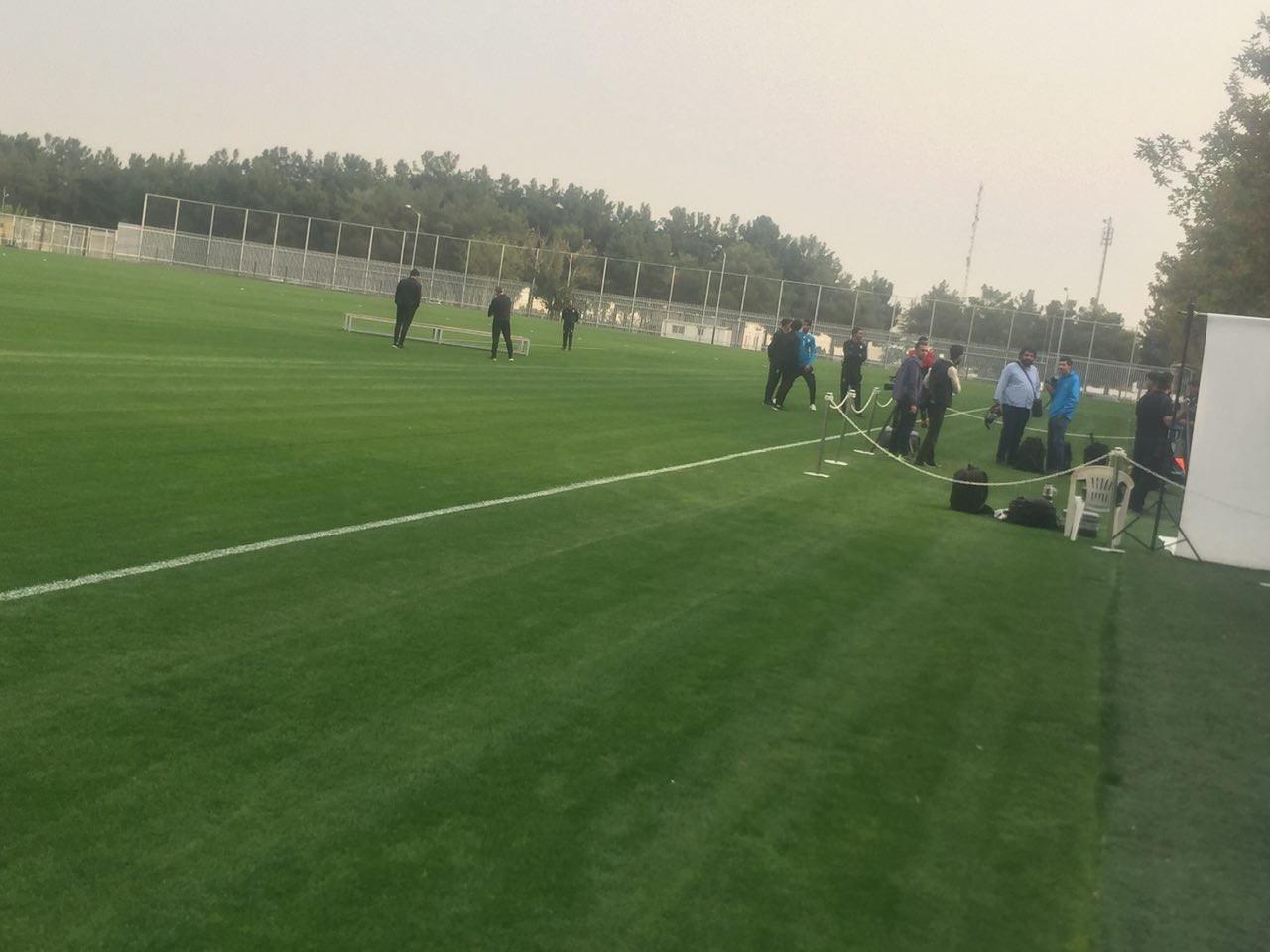 تمرین تیم ملی فوتبال ایران برگزار شد
