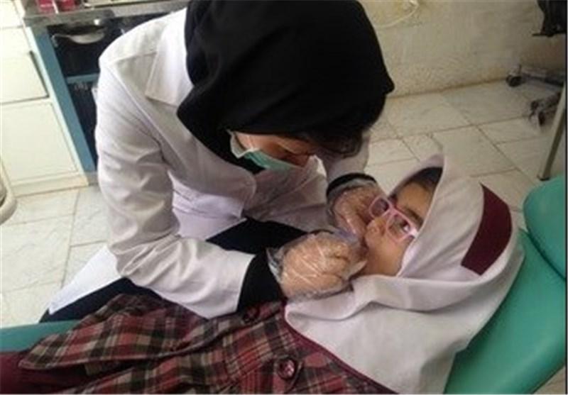 طرح دندان عاری از پوسیدگی دانش آموزان اجرا شد