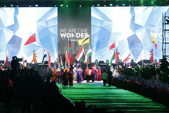 باشگاه خبرنگاران - تصاویری از مراسم اختتامیه بازیهای پاراآسیایی جاکارتا