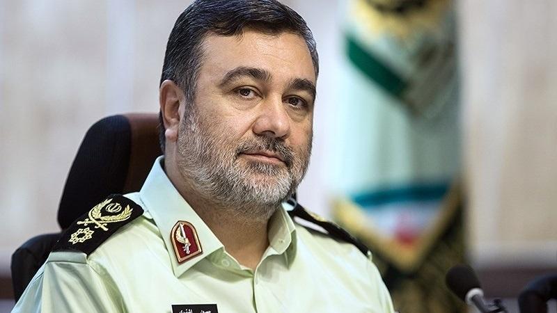 فرمانده نیروی انتظامی کشور وارد ایلام شد
