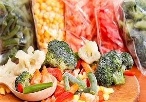 قیمت محصولات غذایی منجمد نیمه آماده در میادین میوه و تره بار اعلام شد