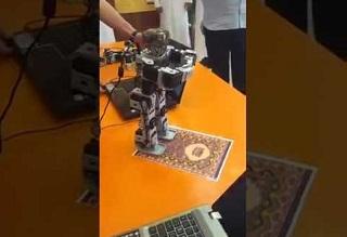 چینیها ربات نمازخوان ساختند! +فیلم