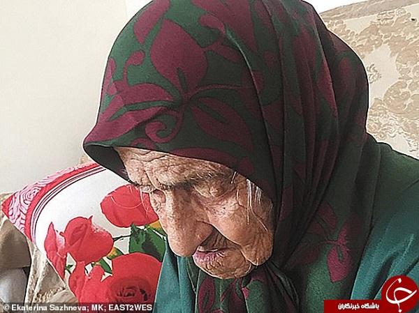 ناگفتههای پیرترین زن جهان +تصاویر