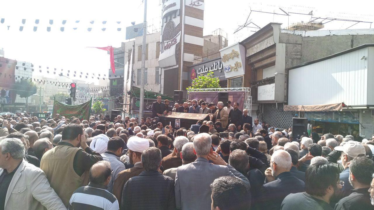 پیکر حجتالاسلام ابوالقاسم شجاعی تشییع شد/ وداع با شکوه با گنجینه خاطرات اهل منبر