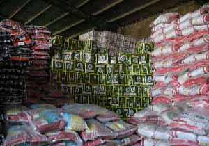 کشف انبار احتکار برنج و روغن در شهرستان پیرانشهر