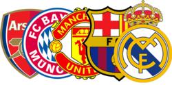 محبوبترین تیمهای فوتبال جهان مشخص شدند + عکس