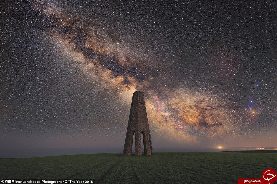 تصویری از کهکشان راهشیری, عکس برتر سال شد