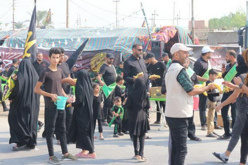حرم حضرت علی(ع) پذیرائی از زائران اربعین را آغاز کرد+ تصاویر