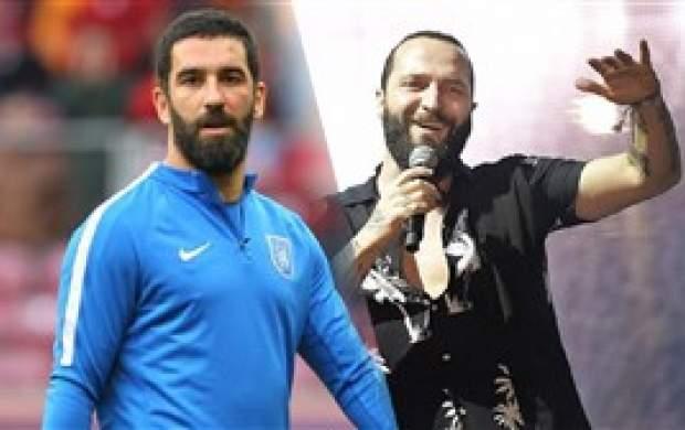 هفتتیرکشی آقای فوتبالیست برای خواننده مشهور