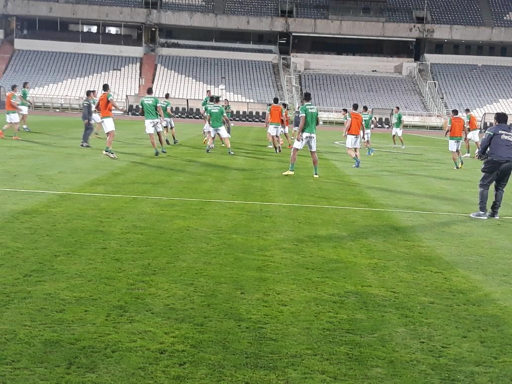 گزارش تمرین تیم ملی فوتبال بولیوی +عکس