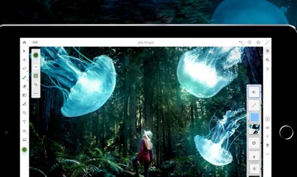 ادوبی فتوشاپ نسخه مخصوص آیپد را معرفی کرد +فیلم