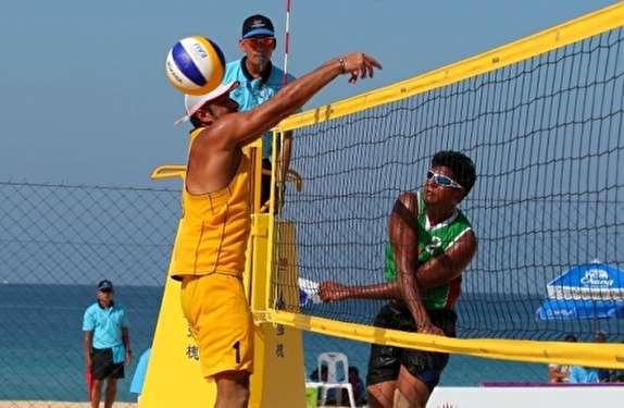 باشگاه خبرنگاران - آغاز تور جهانی والیبال ساحلی در منطقه آزاد انزلی