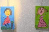 باشگاه خبرنگاران -نمایشگاه نقاشی انگشتهای کوچک رنگی افتتاح شد