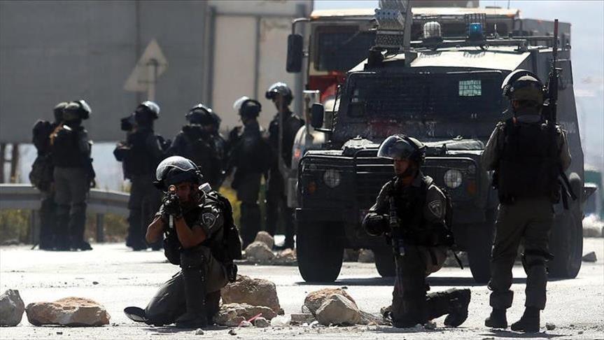 لحظه تیر خوردن خبرنگار زن توسط نظامیان اسرائیلی+فیلم