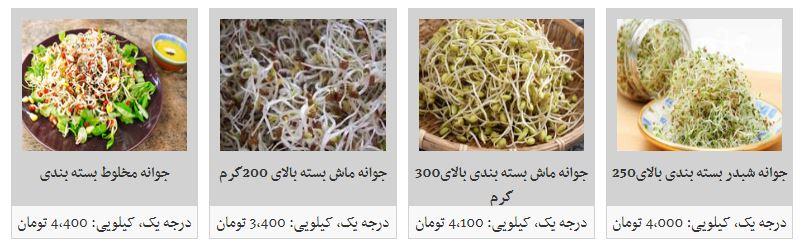 جوانه گندم با چه قیمتی در بازار به فروش میرسد؟