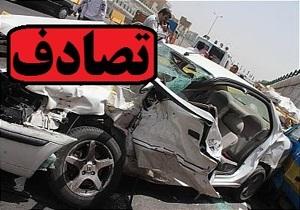۵ زخمی در تصادف محور شیراز به سپیدان