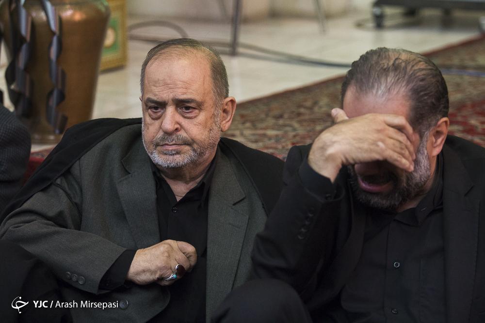 مجلس ترحیم حجت الاسلام سید ابوالقاسم شجاعی
