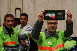 باشگاه خبرنگاران - اعزام کاروان خادم الحسین (ع) شهرداری تهران به مراسم اربعین حسینی
