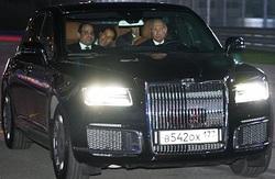 پوتین رانندگی در پیست فرمول یک را به رئیسجمهور مصر نشان داد! +فیلم