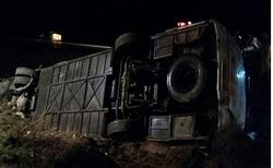 واژگونی اتوبوس مشهد _ کرمانشاه در گردنه آهوان سمنان/ رییس دانشگاه علوم پزشکی استان سمنان: 47 نفر کشته و مصدوم شدند