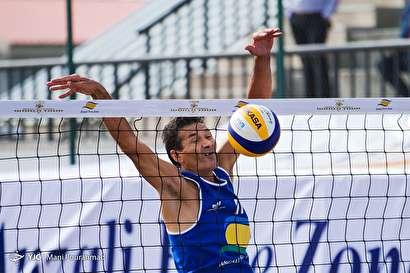 باشگاه خبرنگاران -تور جهانی والیبال ساحلی کاسپین سریز - بندر انزلی