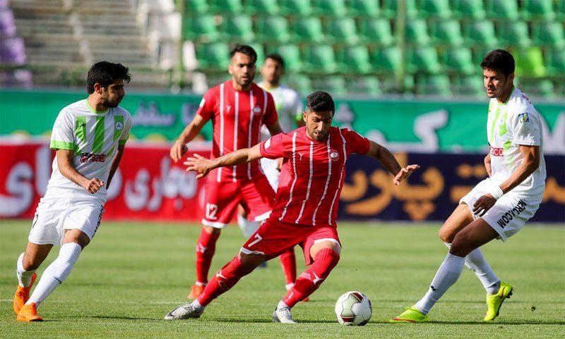سپید رود رشت ۰- - ۰ ذوب آهن اصفهان / گزارش لحظه به لحظه