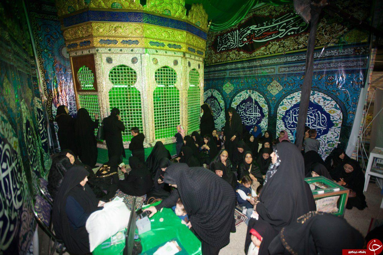 باشگاه خبرنگاران - برگزاری بزرگترین مراسم معنوی در کنار نیم ضریح حضرت زینب سلام الله علیها