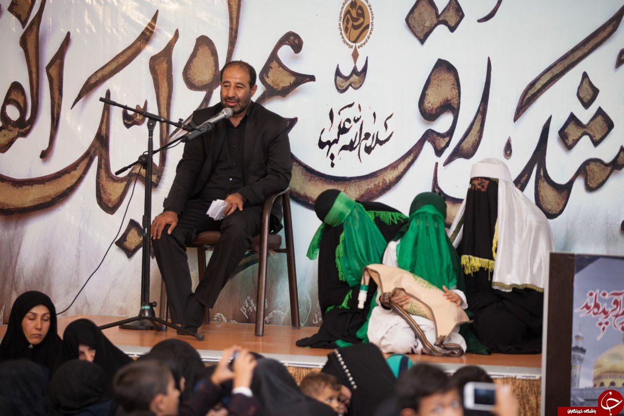 برگزاری بزرگترین مراسم معنوی در کنار نیم ضریح حضرت زیبن سلام الله علیها