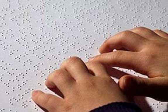 سهم کودکان نابینا از دنیای رنگارنگ کتاب چقدر است؟
