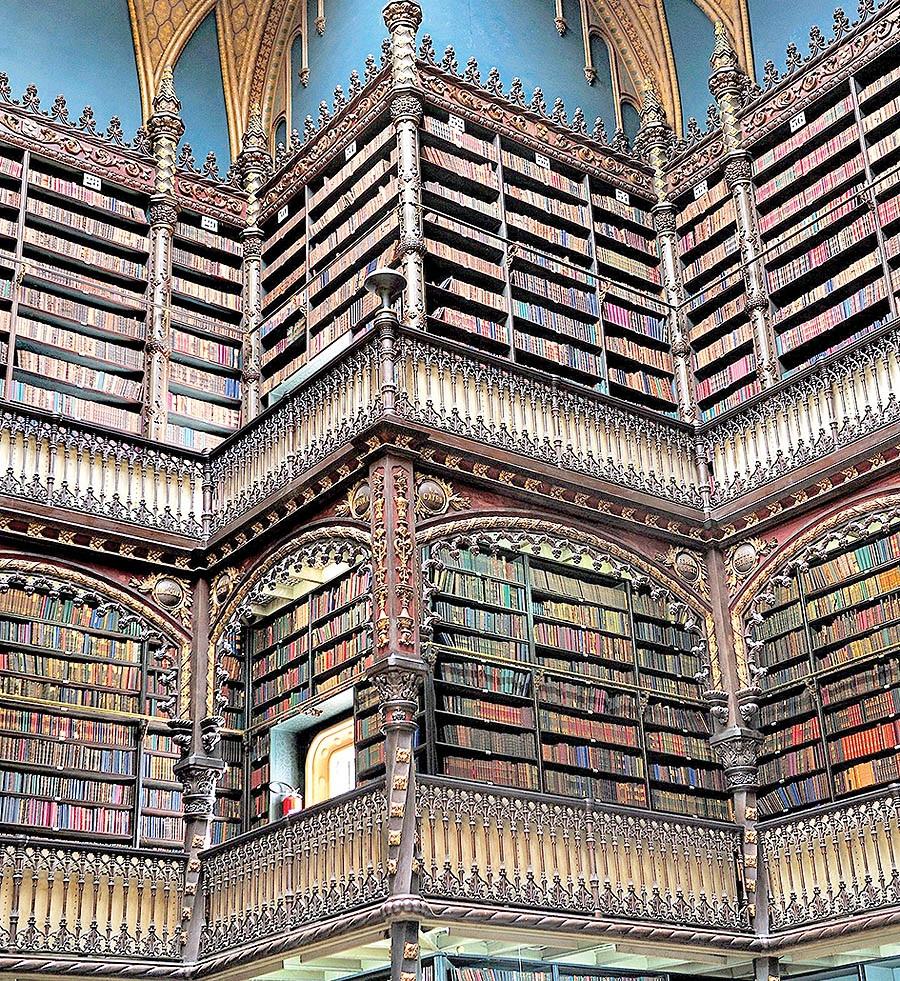 جالب ترین و زیباترین کتابخانه های دنیا