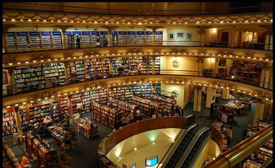 جالبترین کتابخانهها و کتاب فروشیهای جهان را بشناسید