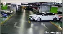 خسارت هنگفتی که راننده ناشی در پارکینگ رقم زد! +فیلم