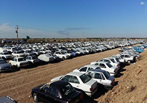 باشگاه خبرنگاران -پارک یک هزار خودرو در پارکینگهای چذابه و شلمچه