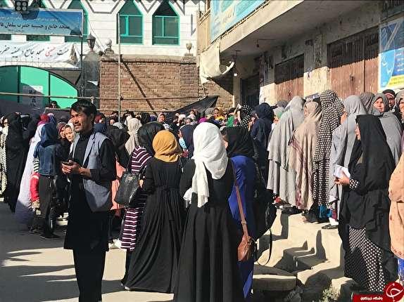 باشگاه خبرنگاران - گزارش تصویری از حضور گسترده مردم کابل در انتخابات پارلمانی